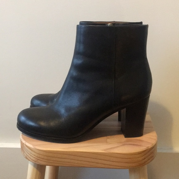 ea1cd1cb5 & Other Stories Shoes   And Other Stories Black Leather Booties ...